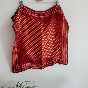 Vintage - Red Scarf - Square